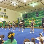 Cheerleaders rock Richmond Senior