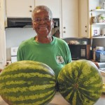 Jackson's whopping watermelons