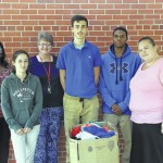 Ashley Chapel helps New Horizons