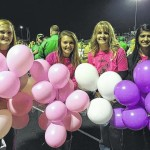 CURE selling 'pink links' at Raiders game to aid in cancer fight