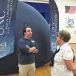 Mobile planetarium offers galactic gaze at Monroe Avenue Elementary