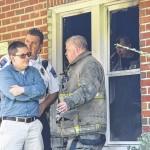 Man dies in Hamlet house fire
