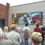 Downtown Rockingham mural unveiled