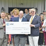 AT&T pitches in at Place of Grace