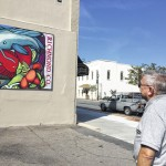 Downtown Rockingham mural installed