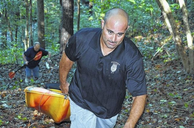 Creek kayakers rescued