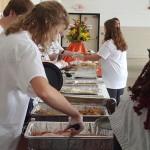 Dannell Ellerbe feeds hometown fans for Thanksgiving