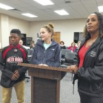 Cross country runners, coach recognized