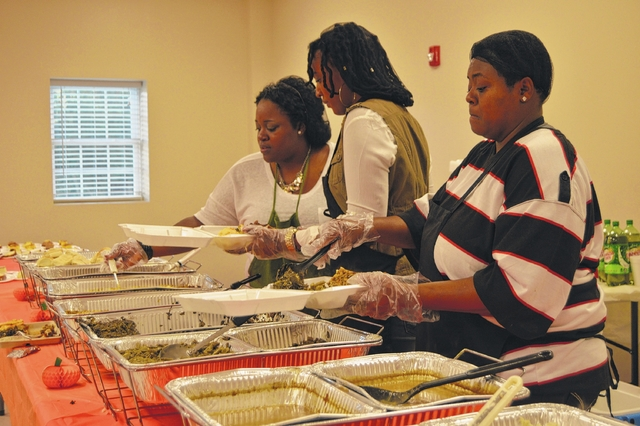 Thanksgiving meals throughout Richmond County 'let them know somebody cares'