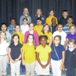 Mineral Springs Elementary names star students