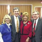 Richmond County judge, clerk of court attend Purcell-Yongue dinner