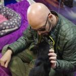 Animal Planet star Jackson Galaxy visits blind cat sanctuary