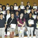 Ellerbe Middle names all-A honor roll students