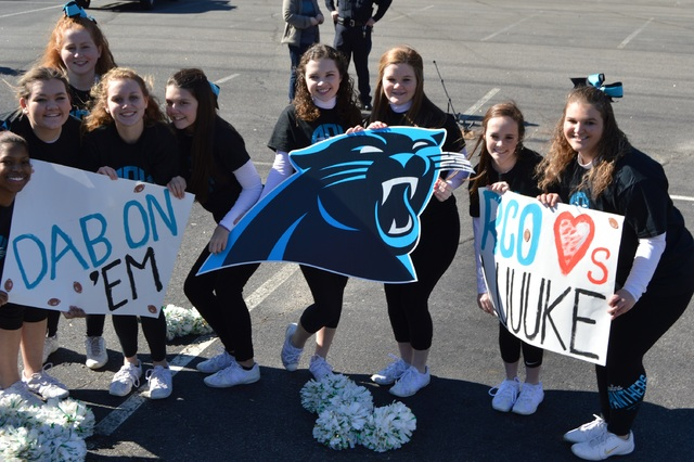 #KeepPounding: Richmond County shows Panthers pride