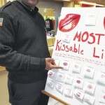 Fire chief chooses 'Most Kissable Lips'
