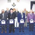 Rockingham Masons install new officers
