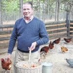 Benefactors Kenneth, Claudia Robinette growing food for family care home