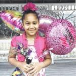 Olivia Bostick celebrates 8th birthday