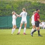 Hailey Bass, Chloe Wiggins each score 2 goals in a 6-0 win over St. Pauls