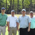 Baucom, Lambeth, Turner and Everett take first place in John Searcy Memorial Golf Tournament