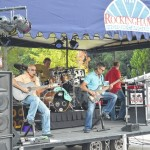 Too Much Sylvia opens Rockingham's Plaza Jam concert series