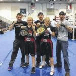 Dungeon Boxing Club twins win at Azalea Festival