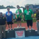 Richmond County Special Olympics athletes compete on state level