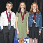 Rockingham Middle students honored by Duke