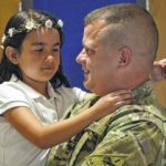 DADDY'S HOME: Soldier surprises daughter at East Rockingham Elementary