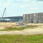 Construction continues on RSI facility in Richmond County Industrial Park