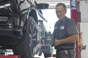 Rockingham mechanic builds garage on family homestead
