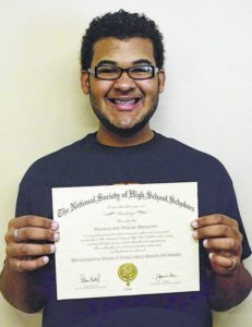 Richmond Early College scholar chosen by honor society