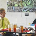 Pittenger makes second county visit