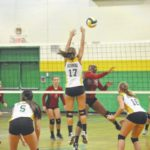 Richmond Senior volleyball sweeps West Montgomery 3-0