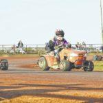 Lawnmower racers to remember John Rummage during doubleheader in Ellerbe