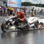 Larry 'Spiderman' McBride repeats as Top Fuel Champion
