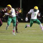 Richmond Senior football uses balanced attack in rout of Lumberton