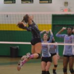 Richmond Senior volleyball downs Charlotte Olympic, advances to 2nd round