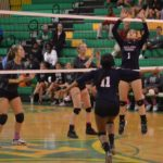 Richmond Senior volleyball ends season with loss to Mallard Creek