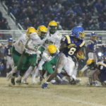Richmond Senior football falls to Garner in 2nd round
