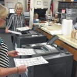 Recount flows into Friday