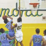 Richmond Senior boys basketball takes down Union Pines