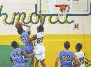 Richmond Senior boys basketball takes down Union Pines