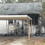Hamlet home sustains 'extensive damage' in weekend fire