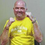 Born fighter: Dan McInnis recounts near-death experience