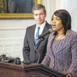 Cooper names commerce, admin secretaries