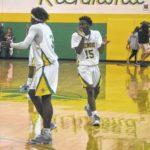 Basketball: Richmond Senior splits games at Lumberton