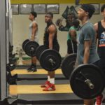 No matter what, Richmond Senior football continues to work hard