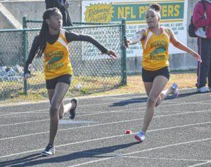 Richmond Senior boys, girls track finish second at Pinecrest