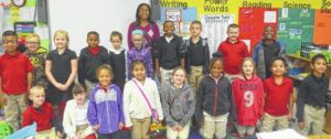 West Rockingham 2nd graders have their brains on books